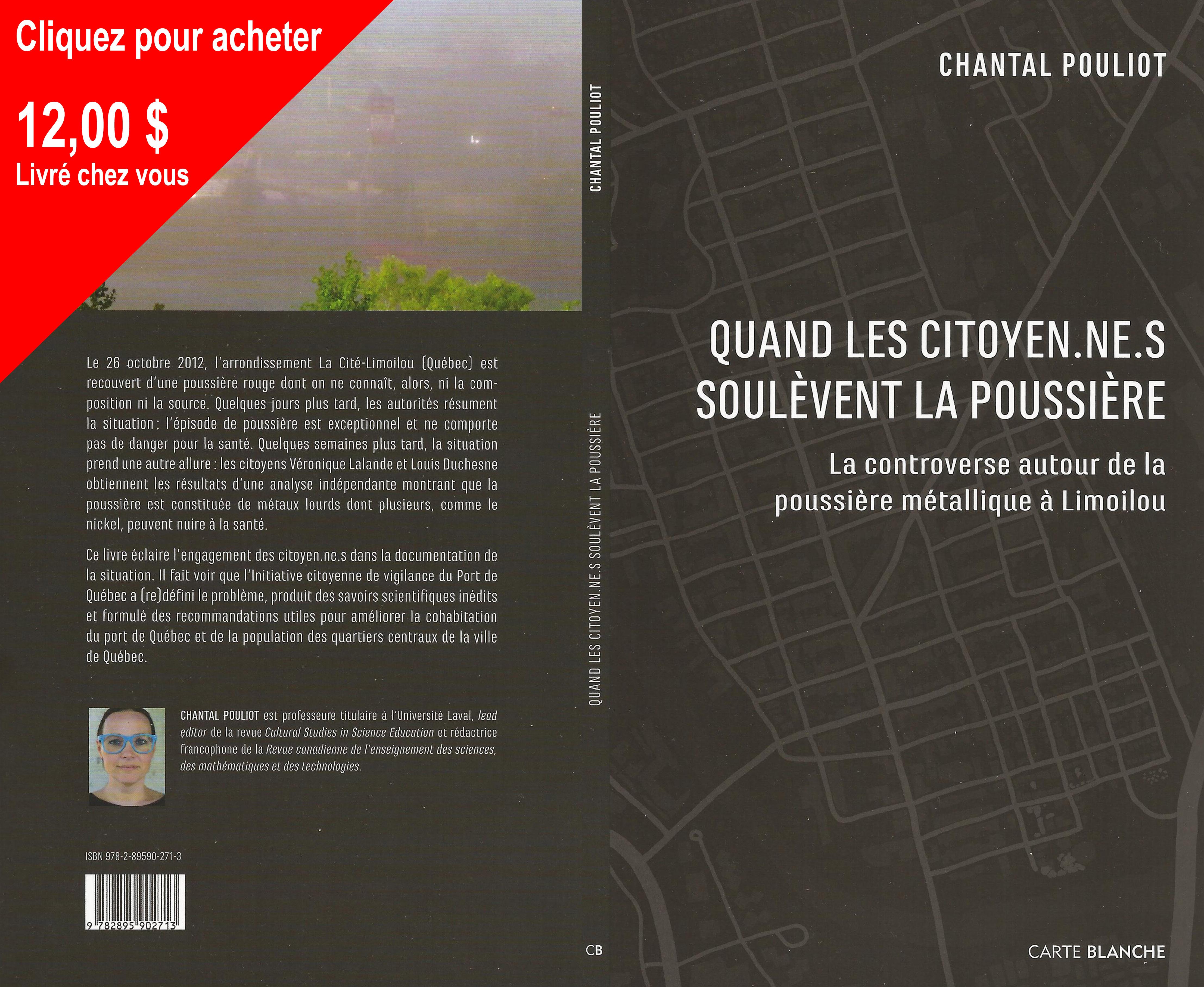 Couverture Livre Chantal Pouliot